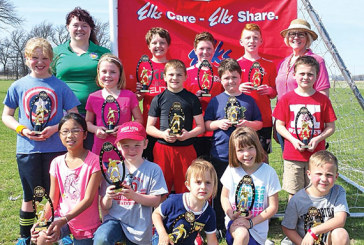 Local children compete in Shoot-out