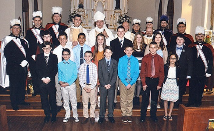 Youth ordained