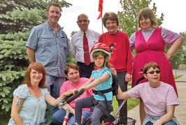 Organizations join forces  to provide bike for Ada girl