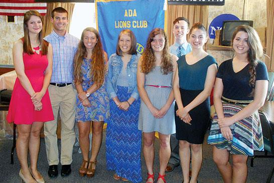 Ada scholarships winners