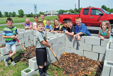 Ridgemont Elementary students learning benefits of composting