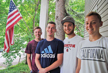 Exchange students returning home with fond memories of school spirit, friends in Kenton