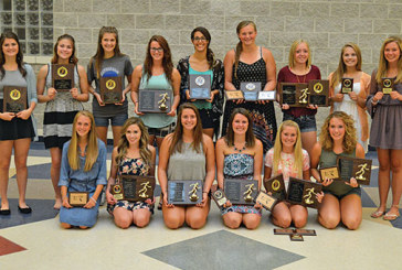 Riverdale girls track and field hands out special awards