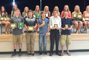 Ridgemont hands out spring sports awards