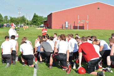 Football camp begins