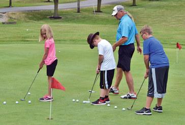 Junior golf clinic a success