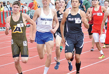 HN's Nicholas Bame reaches podium twice at state track