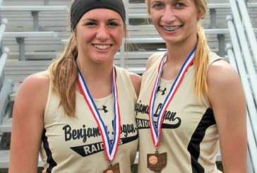 Pair of 'small-town girls' headed to state for Raiders
