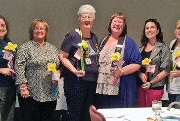 Soroptimist officers