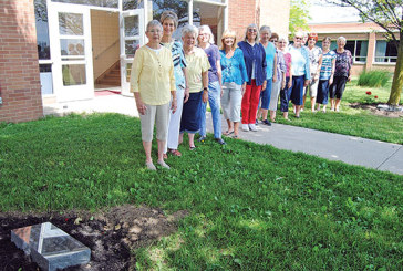 TLC Mother's Club gathers to celebrate markers for trees