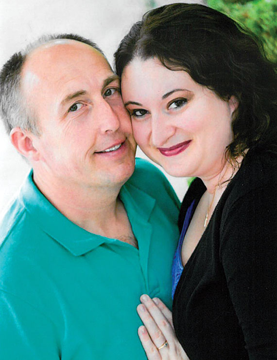 Todd Cannode and Holly Layman
