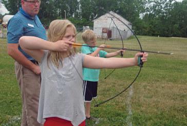 Archery, crafts at YMCA programs