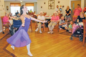 Performing for Grandma