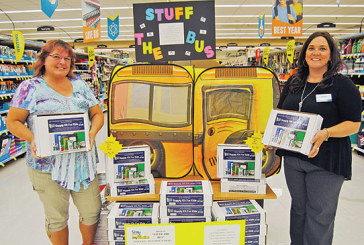 Campaign begins to 'Stuff the Bus' with school supplies