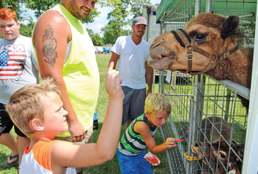 Crowd gathers for annual Kids Day