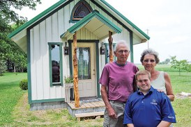 Rural chapel is lasting tribute from grandparents to a special grandson