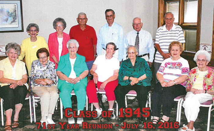 KHS class of 1945 reunites