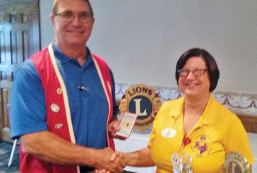 District governor visits Kenton Lions