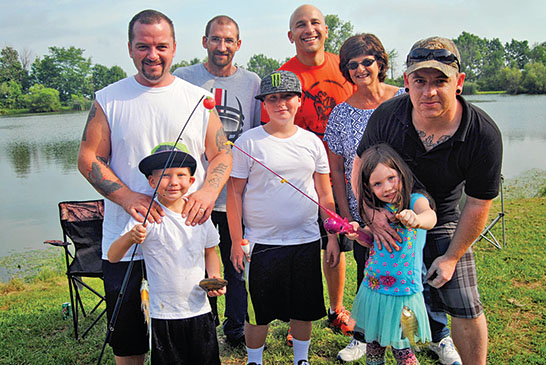 Fishing offers day of clean fun for Recovery Court members