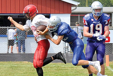 First scrimmage goes well for KHS