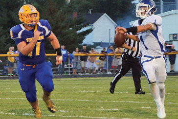 Falcons fly by W-G in football opener