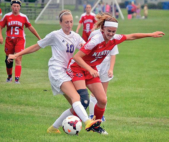 Shielding the ball