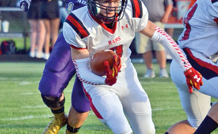 Ada tops USV in football opener