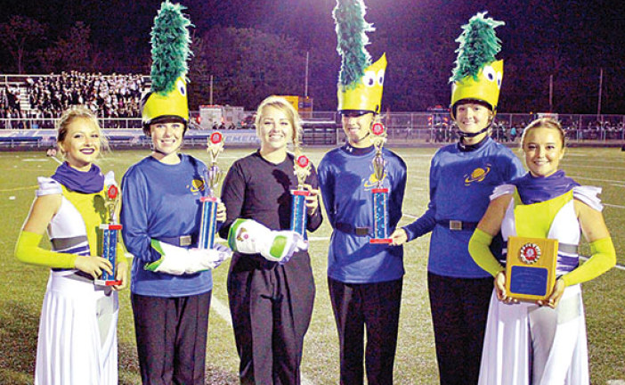 Ada Marching Band earns first place at invitational