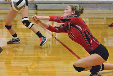 Rams volleyball swept by Ottoville