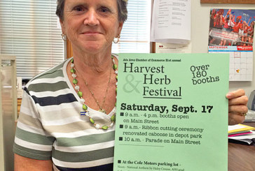Ada gets ready for annual Harvest and Herb Festival