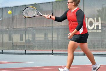 Schriber grabs win for KHS tennis