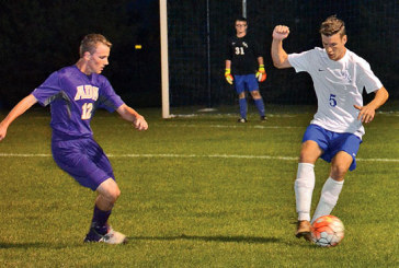 Falcons perform well in 2-0 win over Ada boys soccer