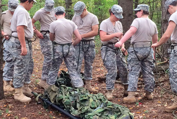 Kenton's JROTC Raider team returns to competition