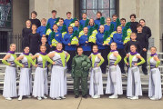 Ada Marching Band takes first place for third time this season