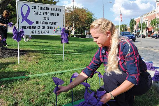 Domestic violence ribbons