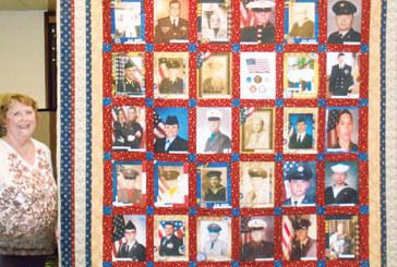 Family veterans quilt
