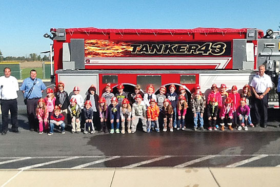 Fire safety featured