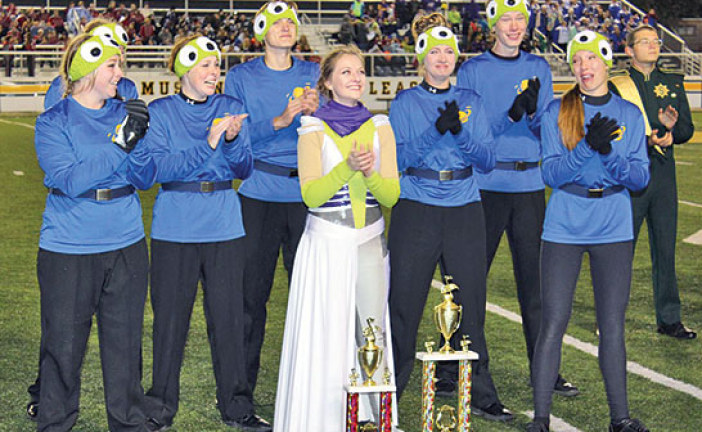 Ada High Marching Band earns trip to state finals