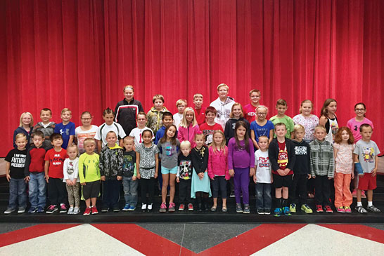 "Kenton Elementary School students honored for displaying ""determination"""