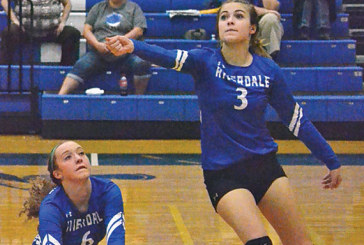 Falcons swept by Leipsic