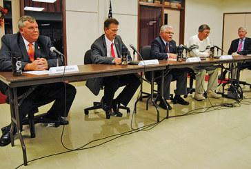 Commissioner hopefuls outline views