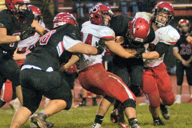 KHS offense puts up 62 points in blowout