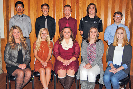Elks honors teens