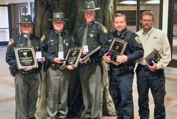Five area law enforcement officers receive state honors