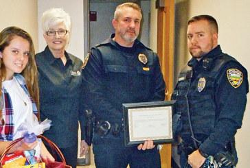 KPD K-9 gets badge and vest