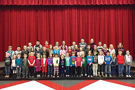 Kenton Elementary Character Award winners