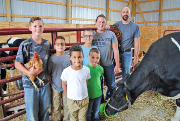 Rural Kenton family shares farm values with troubled youth