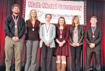 Math honorees