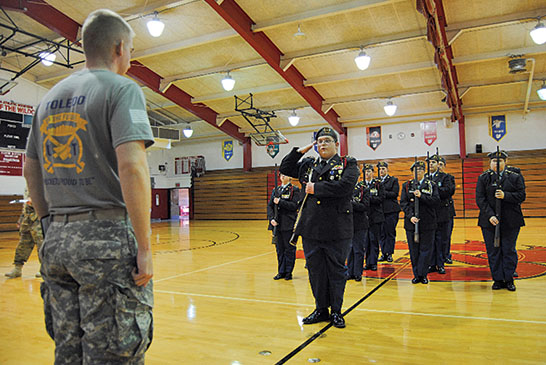 ROTC competition