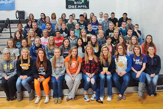 Hardin Northern students recognized for academic efforts during the 2015-2016 year